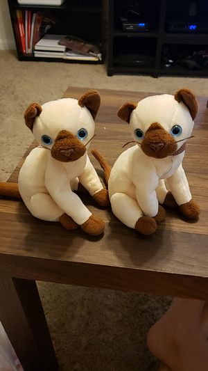 Siam the siamese cat beanie babies for Sale in Columbia, SC