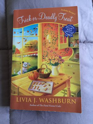 TRICK OR DEADLY TREAT Book for Sale in Hialeah, FL