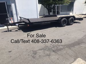 Brand New 2020 Sky 18' Flatbed Car Trailer Hauler (Price Reduced) for Sale in Fremont, CA