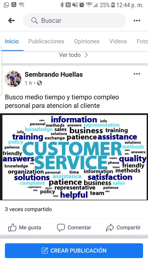 full time and part time positions available. medio tiempo and tiempo completo positiones disboplibles