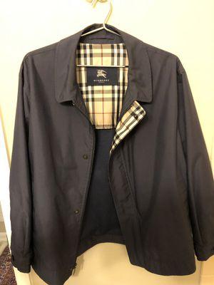 Men's Burberry Jacket XL for Sale in Herndon, VA