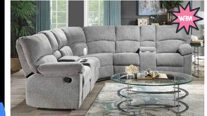 New Grey Recliner Sectional for Sale in Austin, TX
