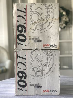 POLK AUDIO TC60i WALL SPEAKERS for Sale in Los Angeles, CA