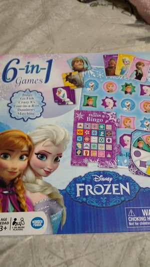 Disney Frozen 6-in-1 Games for Sale in Miami Lakes, FL