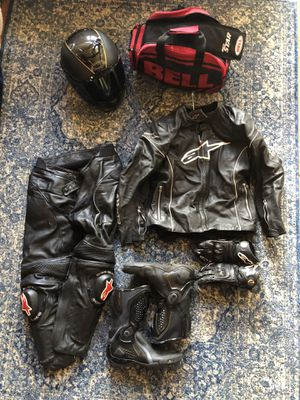Motorcycle gear! Message me if you're interested!! for Sale in Woodland Park, CO
