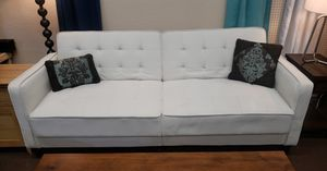 white futon(new never used) for Sale in Tulare, CA