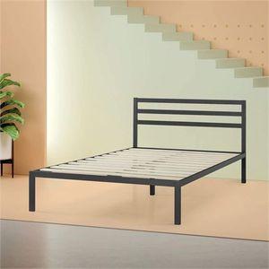 TWIN SIZE Zinus Mia Modern Studio 14 Inch Platform 1500H Metal Bed Frame With Headboard for Sale in Hammond, IN