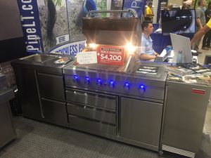 Outdoor kitchen bbq grill barbecue all stainless for Sale in West Palm Beach, FL