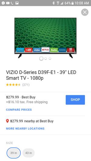 Vizio smart tv 32 inch for Sale in Washington, DC