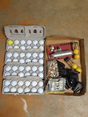 50+ Golf Balls, tees, club covers. for Sale in Plainfield, IL