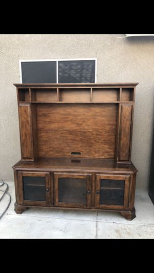Tv entertainment center for Sale in Bakersfield, CA