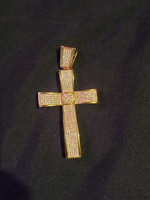 """""""925 Gold"""" cross for Sale in Westminster, CO"""