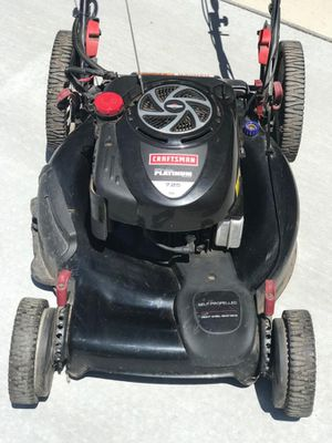 Craftsman platinum 7.25 lawn mower. Key start for Sale in Naperville, IL