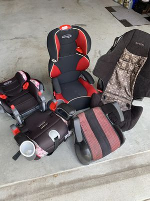 Car seats - 4 pack $115 for Sale in Lilburn, GA