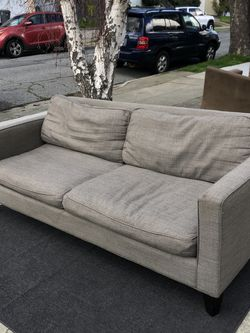Room & Board Grey Sofa Couch - FREE DELIVERY for Sale in Millbrae,  CA