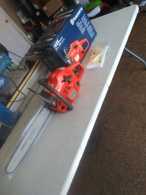 Husqvarna gas chainsaw for Sale in Lake Elsinore, CA