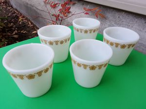 Vintage Pyrex Milk Glass Mugs for Sale in Lacey, WA