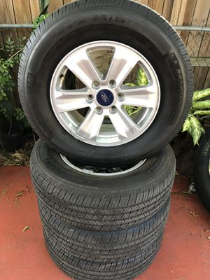 Ford F-150 Rims With Brand New Michelin Tires for Sale in Miami, FL