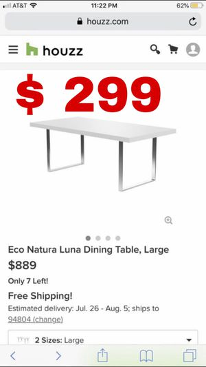 Beautiful new dining table only 399$!!! Original price 889$!!! for Sale in San Leandro, CA