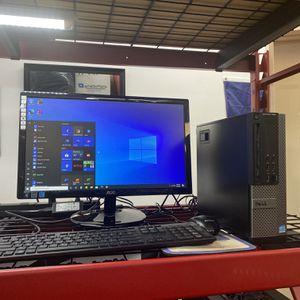 Dell Optiplex Core i5 Computer Desktop Windows 10 for Sale in Houston, TX