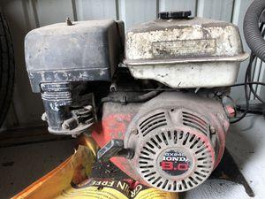 Honda 8 horsepower motor for Sale in Georgetown, DE