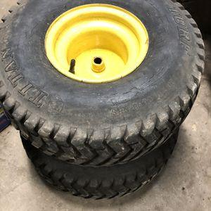 John Deere LT166 Rear Tires for Sale in Harrisburg, PA