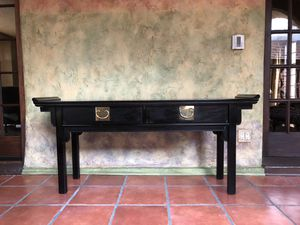Asian Oriental Altar Console Table by Century for Sale in Chicago, IL