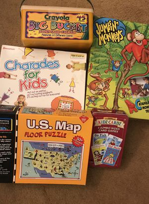 Children's games, activities for Sale in Beaumont, CA