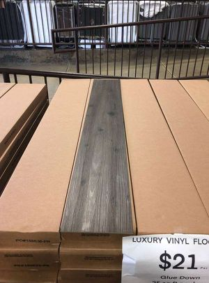 Luxury vinyl flooring!!! Only .65 cents a sq ft!! Liquidation close out! PSV for Sale in Buena Park, CA