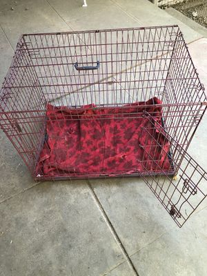 """36"""" heavy duty double door dog crate. Extra wide version. for Sale in Los Angeles, CA"""