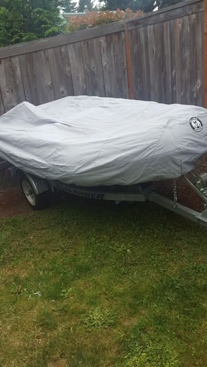 Silver marine inflatable boat for Sale in Lynnwood, WA