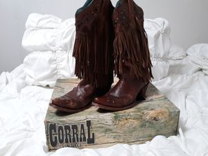 Corral fringed cowgirl boots for Sale in Merced, CA
