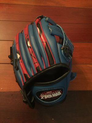 Spider man baseball glove (kids size) for Sale in West Springfield, VA