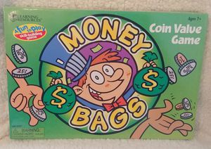 Money Bags Coin Value Game for Sale in University Place, WA