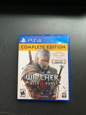 The Witcher 3 Wild Hunt Complete Edition for Sale in Tolleson, AZ