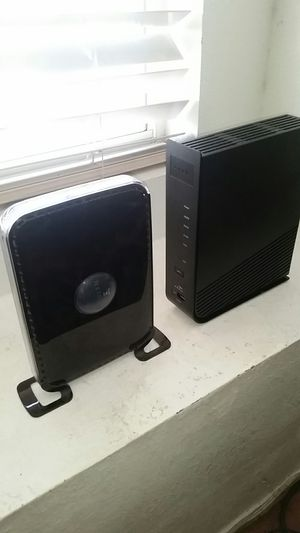 Cable modem and N600 Router for Sale in Las Vegas, NV