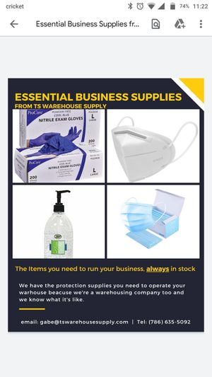 Medical supplies for business'. for Sale in Miami, FL