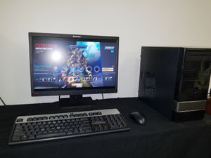 Custom Desktop PC Package Including 22 Inch Widescreen Monitor Perfect For Overwatch Only $220.00 for Sale in South Salt Lake, UT