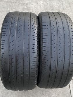 2 tires 255/45/20 pirelli for Sale in Bakersfield,  CA