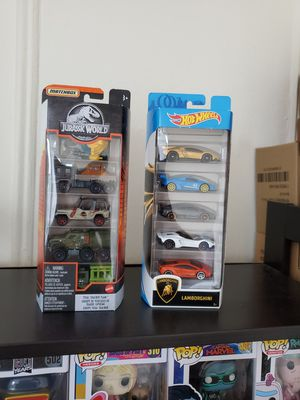 Hot Wheels and Matchbox 5-pack for Sale in New York, NY