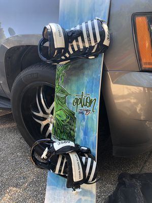 Snowboard and Boots for Sale in San Antonio, TX