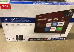 "55"" TCL Roku Tv❗️ GCY8V for Sale in Colton, CA"