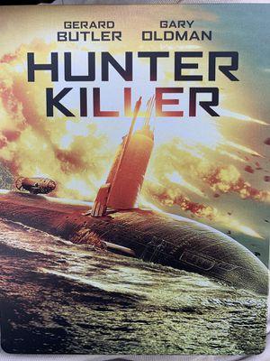 Hunter Killer 4K Blu-ray steelbook for Sale in Chula Vista, CA