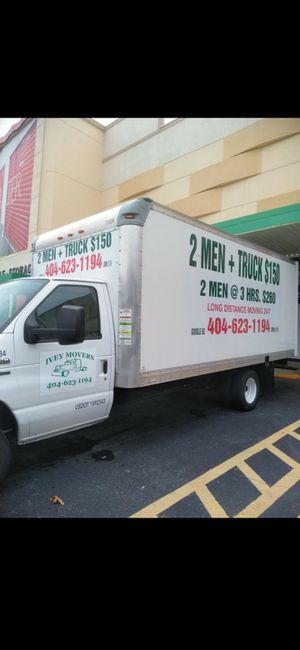 2men an box truck for Sale in Lithonia, GA