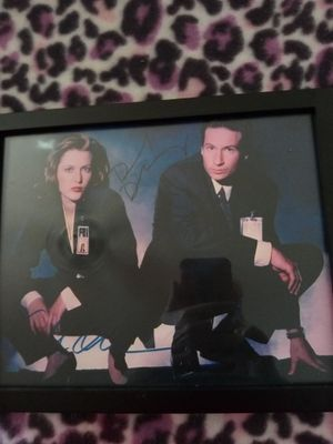 $6.00 X Files REPRINT copy signed photo for Sale in Fort Lauderdale, FL