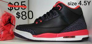 "Jordan 3 Retro ""Crimson"" basketball sneakers for Sale in Inglewood, CA"