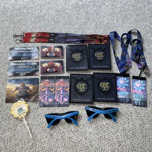 Electric Daisy Carnival EDC Nostalgia Bundle for Sale in Alexandria, VA