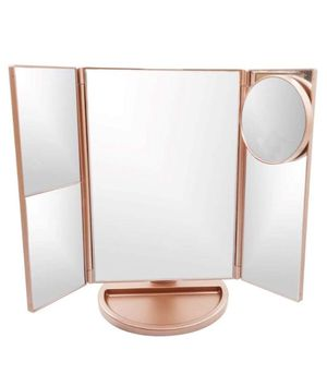 Lighted Vanity Makeup Mirror with 21 LED Lights,3X/2X Magnification Mirror,Touch Sensor Switch for Sale in Rosemead, CA