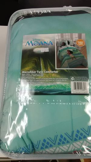 Moana Twin Comforter for Sale in Irving, TX