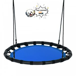 Blue Flying Saucer Round Swing Kids Play Set for Sale in Los Angeles, CA